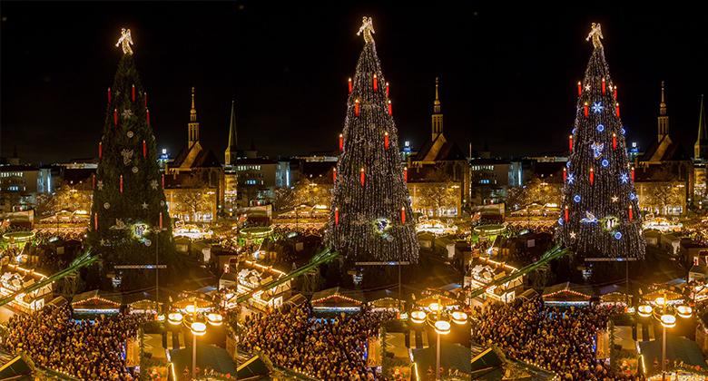 Werner Kocher GmbH montiert Beleuchtung des Dortmunder Weihnachtsbaumes