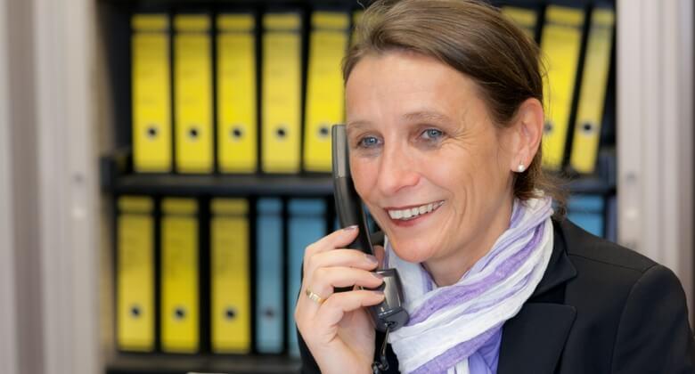 Telefonischer Kontakt in Dortmund