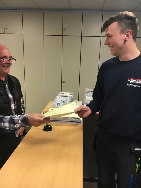 Monteur Elektro in Dortmund erhält Auftrag