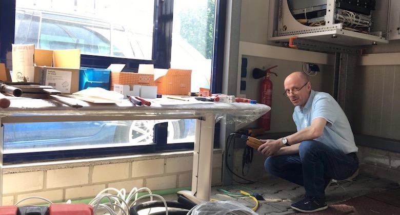 Netzwerktechnik Ausbildungswerkstatt in Dortmund