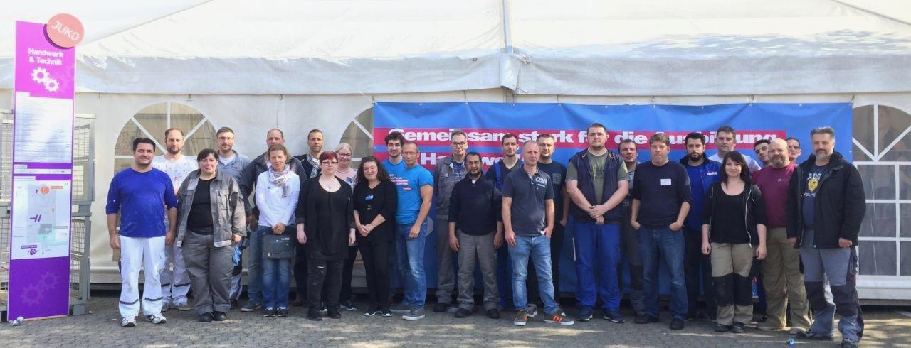 DASA Jugendkongress Kocher Elektrotechnik Dortmund Ausbildung