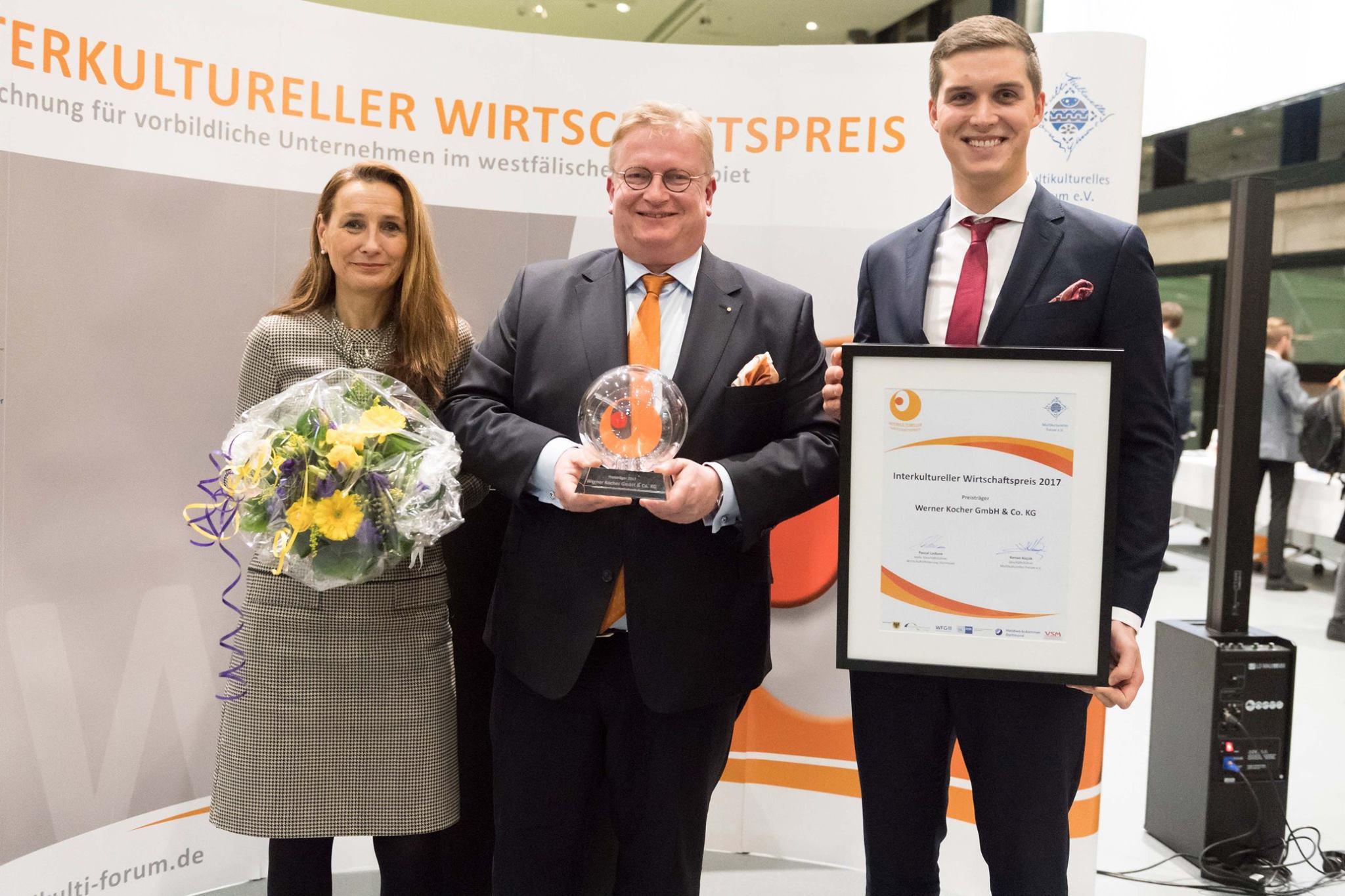 Interkultureller Wirtschaftspreis Kocher Dortmund Elektrotechnik