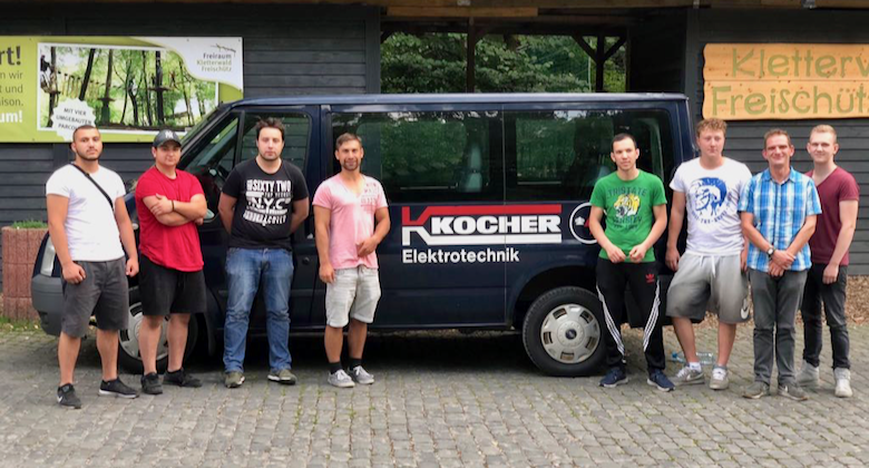 Ausbildung Ausflug Kocher Elektrotechnik Dortmund