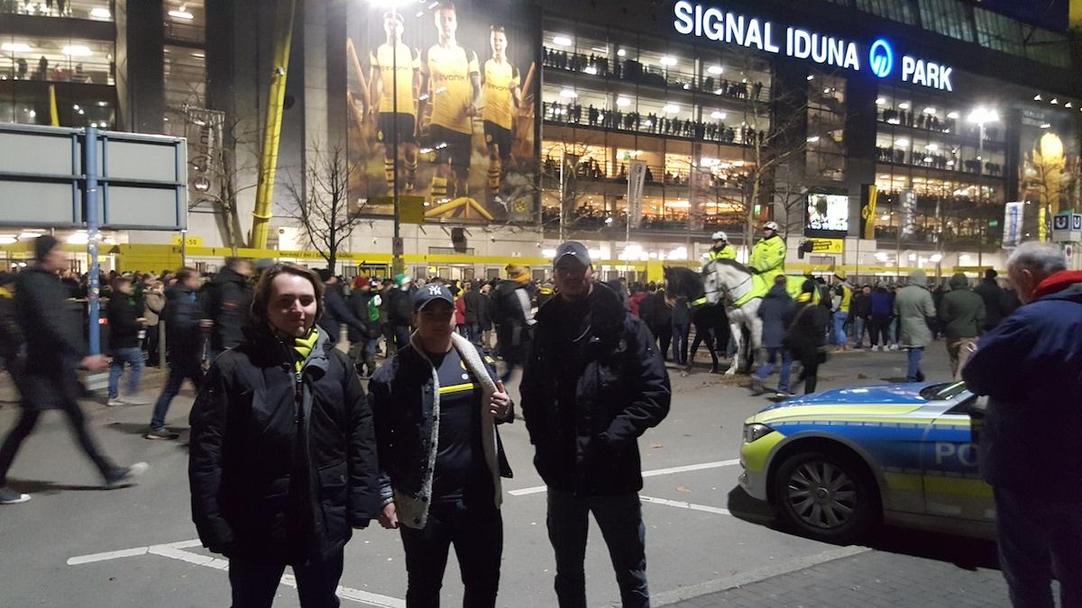 Kocher Elektrotechnik Dortmund bei BVB im Westfalenstadion