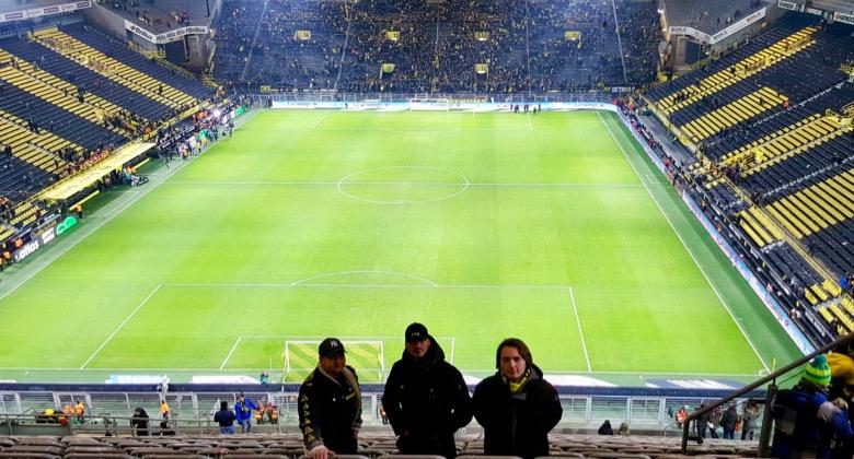 Kocher Elektrotechnik Dortmund beim Stadionbesuch BVB im Westfalenstadion