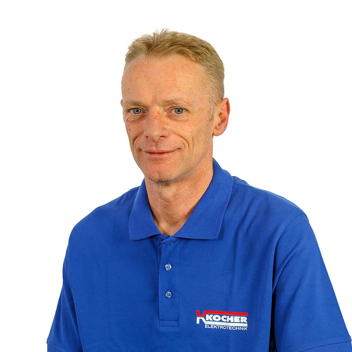 Arnold Klück Lagerist der Kocher Elektrotechnik Dortmund