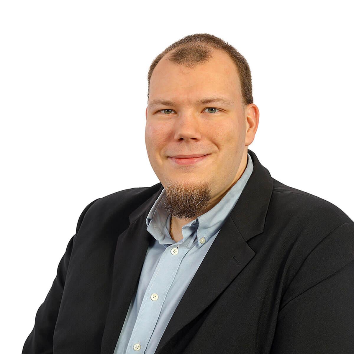 Danny Voss ist im Einkauf der Kocher Elektrotechnik Dortmund.