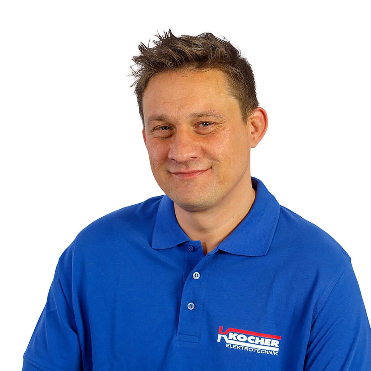 Edward Kollar ist Monteur bei Kocher Elektrotechnik in Dortmund.