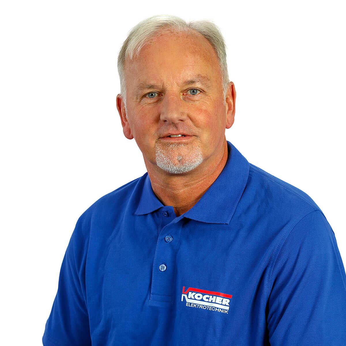 Harald Frei ist Obermonteur bei Kocher Elektrotechnik in Dortmund.