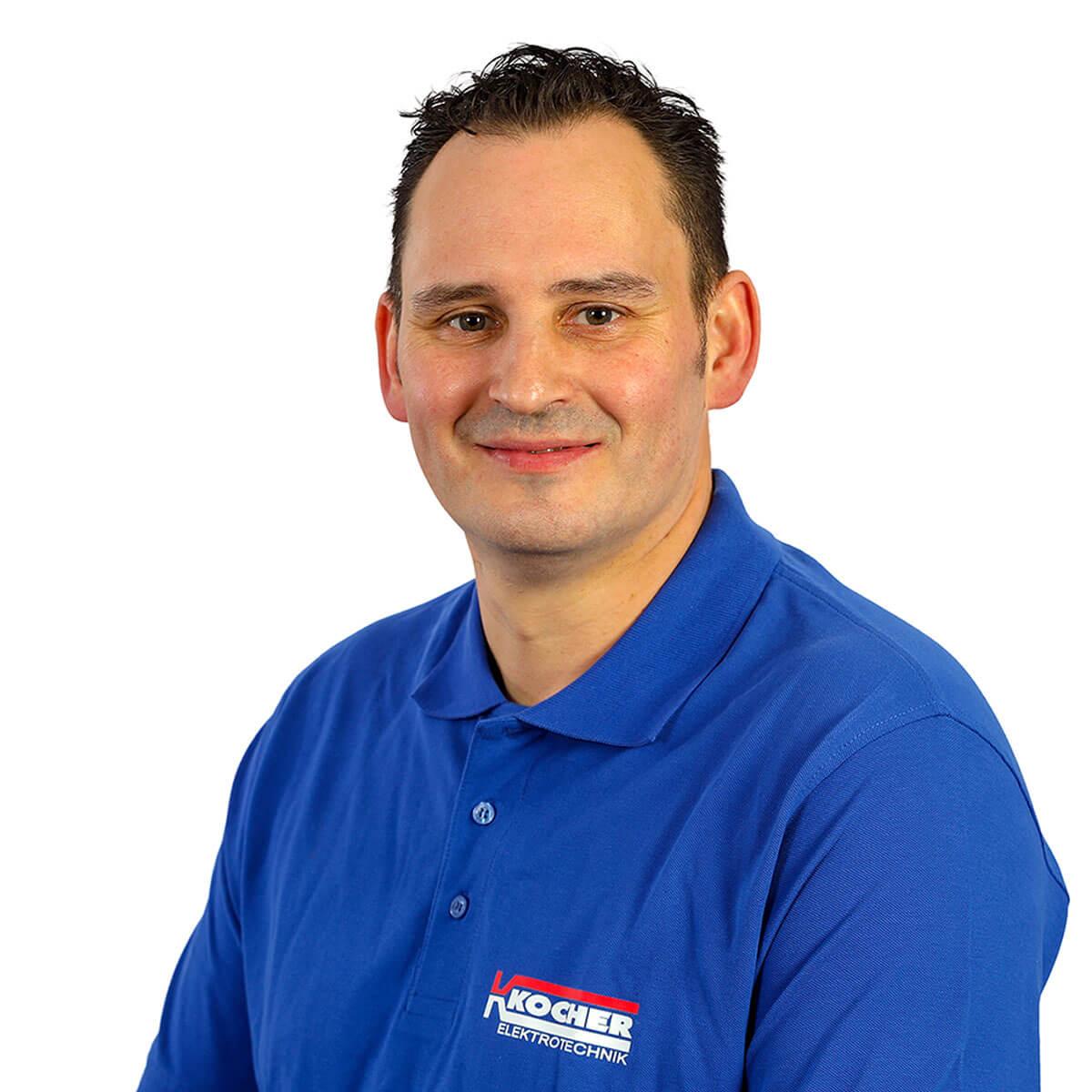 Nils Bache ist Obermonteur bei der Kocher Elektrotechnik in Dortmund.