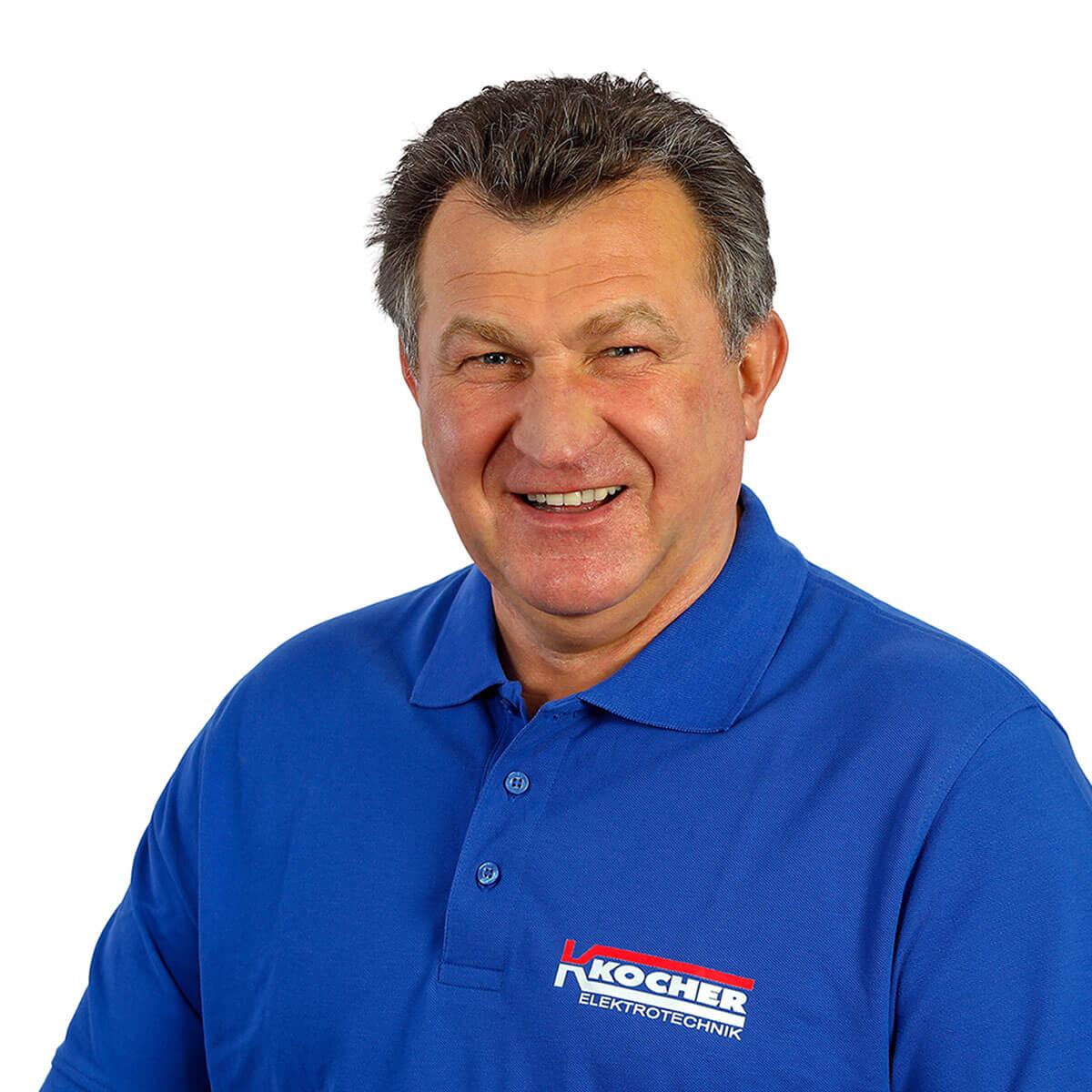 Siegfried Zubek ist Obermonteur bei Kocher in Dortmund.