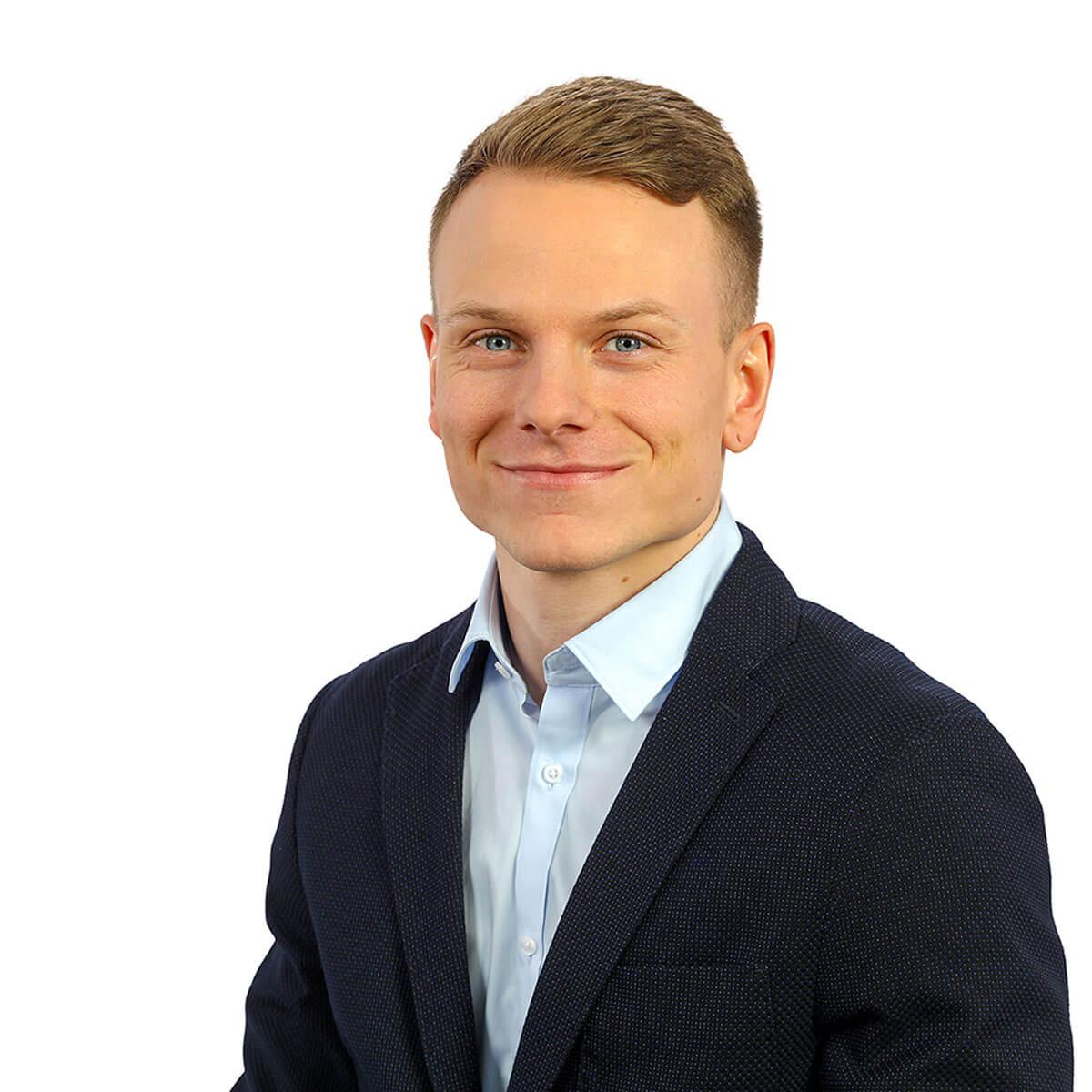 Tobias Möske ist Assistenz der Kocher GmbH Dortmund.