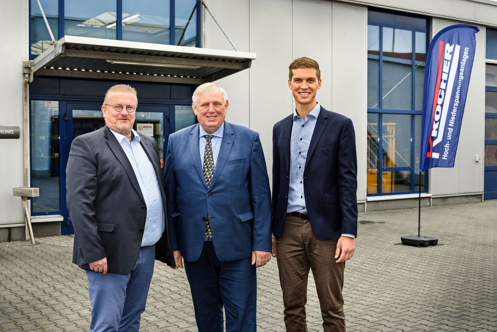 Minister Laumann bei Kocher Elektrotechnik in Dormtund zum Thema Digitalisierung